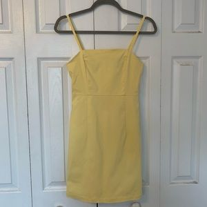 Yellow BodyCon Dress Forever 21